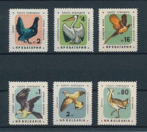 [102912] Bulgaria 1961 Birds vögel oiseaux  MNH