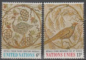 United Nations #201-2  MNH (S1692)