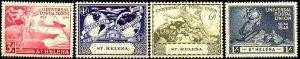 UPU, Universal Postal Union 75th Anniv, St. Helena SC#132-135 MNH set