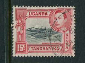 Kenya Uganda & Tanzania #72 Used