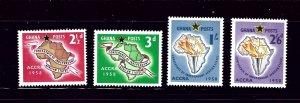Ghana 21-24 MNH 1958 set     (P44)