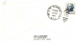 1965 NY & PT. Pleasant BCH R.P.O.Railroad #103