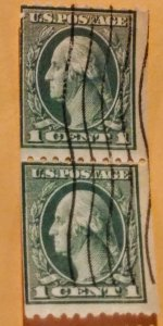 United States 448 used 2 line or. xf