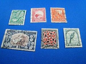 NEW ZEALAND  -  SCOTT # 185//196   USED   (wwn21)