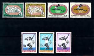 [92046] Haiti 1984 Olympic Games Los Angeles Athletics  MNH