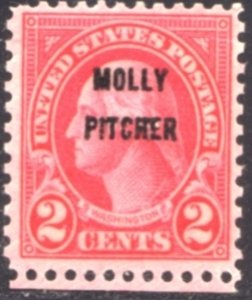 US Scott #646-648 - #634, #637 Overprinted Perf 11x10.5 Rotary Press Issue CV~16
