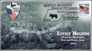 17-384, 2017, Effigy Mounds, Harpers Ferry IA, National Monument, Pictorial,