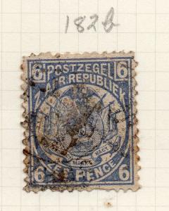 TRANSVAAL 1885 Early Issue Fine Used 6d. 284608