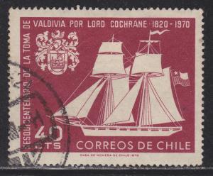 Chile 384 150th Anniv. of the Capture of Valdivia 1969
