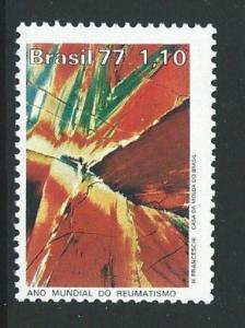 BRAZIL SG1651 1977 RHEUMATISM YEAR MNH