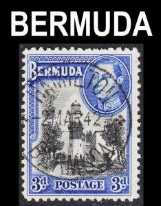 Bermuda Scott 121A F+ used with a splendid SON cds.