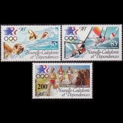 NEW CALEDONIA 1984 - Scott# C197-9 Olympics Set of 3 NH