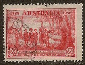 Australia Scott # 163 used. Free Shipping for All Additional Items.