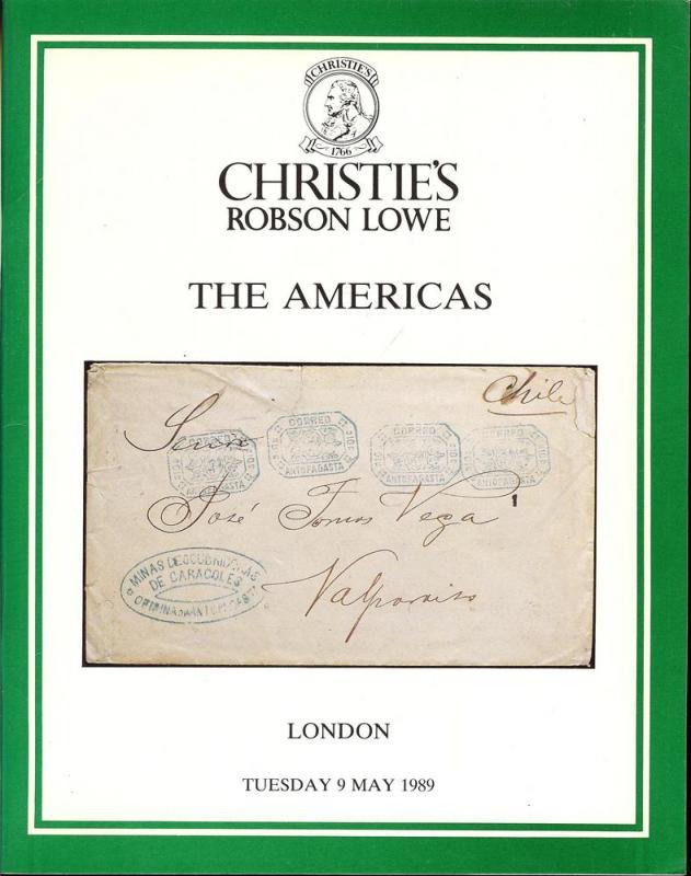Christie's Robson Lowe: Sale # 8239  -  The Americas, Chr...