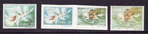 Ireland-Sc#1060-3-unused NH set & self-adhesives-Europa-Stories & Legends-1997-