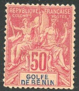 Benin Scott 30 Unused FHMOG - 1893 Navigation and Commerce - SCV $6.75