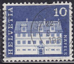 Switzerland 441 USED 1968 Näfels