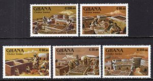Ghana 1306-1310 MNH VF