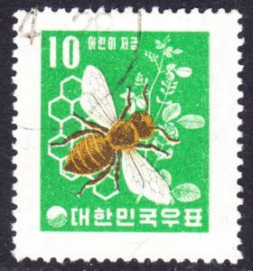 Korea Scott 302  wtmk 317  VF used .