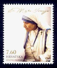 Croatia Sc# 1011 MNH Mother Teresa