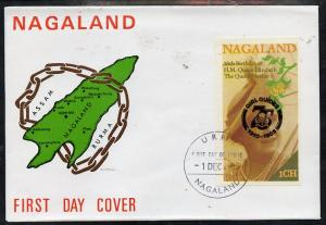 Nagaland 1985 Life & Times of HM Queen Mother imperf ...