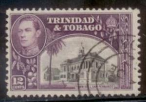 Trinada and Tobago 1938 SC# 57 Used L394