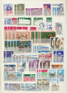 France 1970s Art Red X Used Collection(Appx 450) (Ta 95