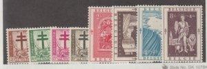 Belgium Scott #B523-B530 Stamps - Mint Set