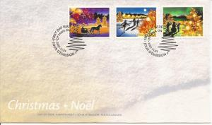 2001 Canada FDC Sc 1922-4 - Christmas Lights