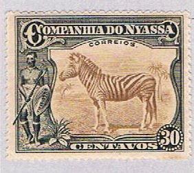 Nyassa 120 MLH Zebra 1921 (BP37910)