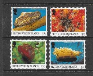 VIRGIN ISLANDS #884-7 MARINE LIFE  MNH