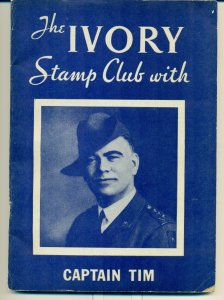 The Ivory Stamp Club Album with Captain Tim includes original letter