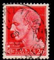 Italy - #217 Julius Ceaser - Used