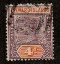 Leeward Islands #4  Used  Scott $9.50