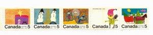 Canada 1970 - MNH Strip - Scott #523AP *