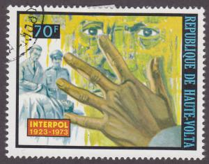 Burkina Faso 303 INTERPOL 1973