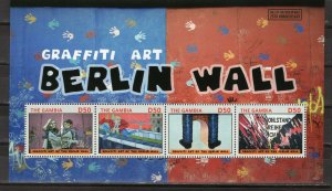 GAMBIA  -  2014 The 25th Anniversary of the Fall of the Berlin Wall  M2693