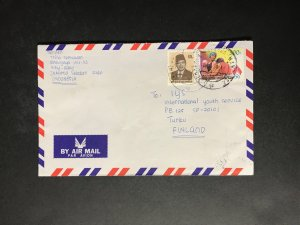 Indonesia #780//B242 Cover to Finland (1970-1999) Cover #3481