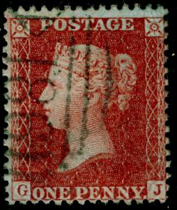 SG29, 1d red-brown PLATE 26, LC14, FINE USED. Cat £65. GJ