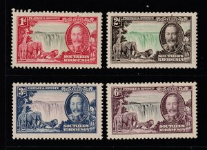 Southern Rhodesia the 1935 Jubilee sel mainly LHM