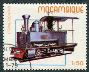 Railroads: Gaza Railway Locomotive No. 1 (1898), 1979 Mozambique, Scott #657