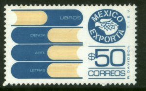 MEXICO Exporta 1133, $50P Books Fosfo Paper 7 MNH