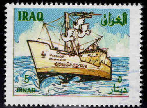 IRAQ Scott 1464 MNH**  Peace Ship 1993 CV $6.50