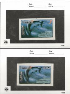 1990-91 Canada  British Columbia Chinook Conservation Stamps