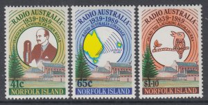 Norfolk Island 466-468 MNH VF