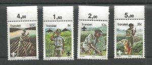 1982 Transkei Boy Scouts log raft dog