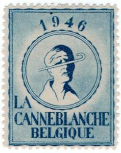 (I.B) Belgium Cinderella : White Stick Blind Charity (1946)