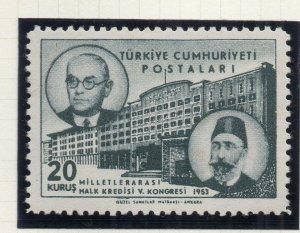 Turkey 1953 Early Issue Fine Mint Hinged 20k. NW-18184