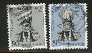 Haiti  Scott C95-96 Used stamp set