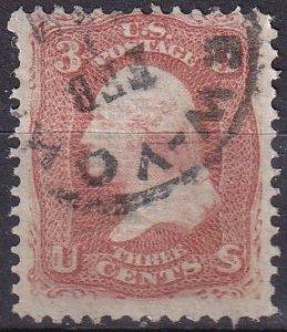 US #94  F-VF Used CV $10.00  (Z9494)
